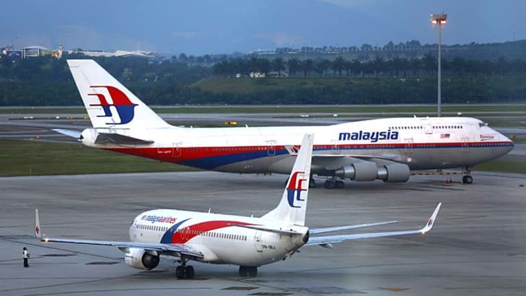 Troubled: Government-controlled Malaysia Airlines reported  a $US134 million first-quarter loss.