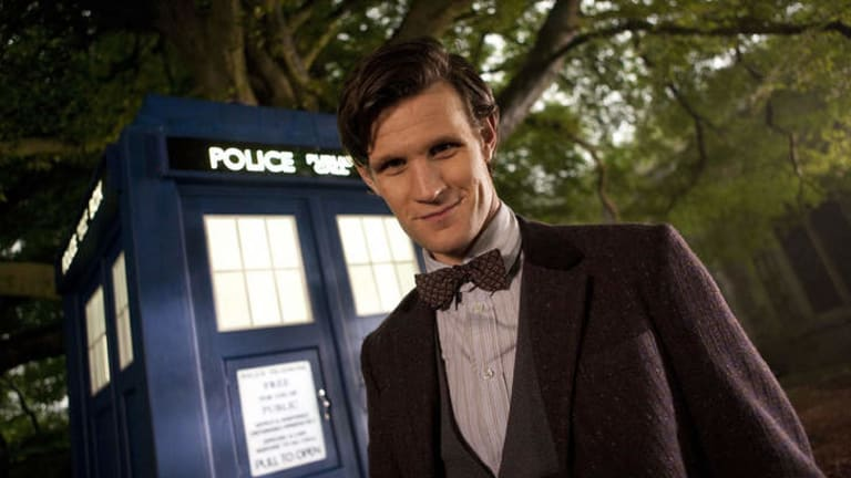 Stepping down: current Doctor Who Matt Smith.