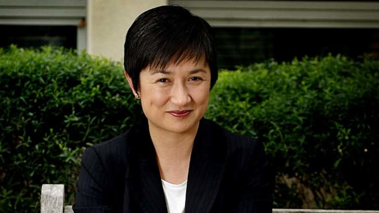 """Malaysian-born Federal Finance Minister Penny Wong was racially vilified at school and later vilified for her sexuality: """"I didn't become insular. I've seen that happen with kids, but it wasn't my response. I just pretended to be confident, even when I wasn't. I learnt to be steady and still, even when it felt very messy and difficult."""""""