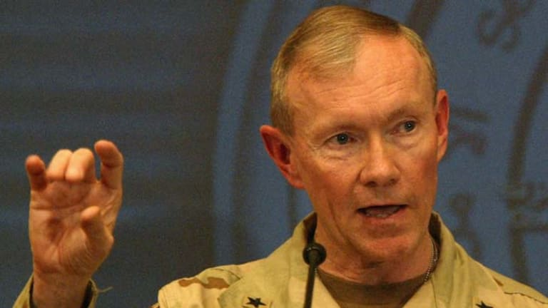 General Martin Dempsey ... mission to Egypt.