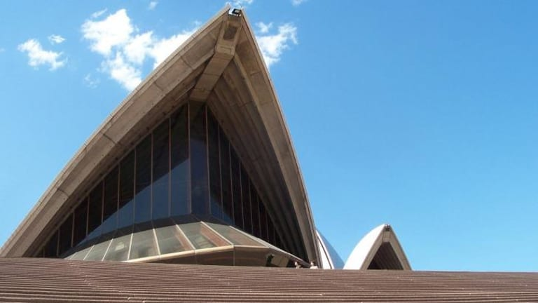 Plan to age gracefully: The Opera House has been awarded a grant to study the structure's concrete elements.