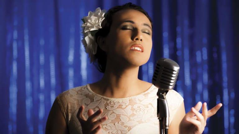 Mama Alto as Billie Holiday.