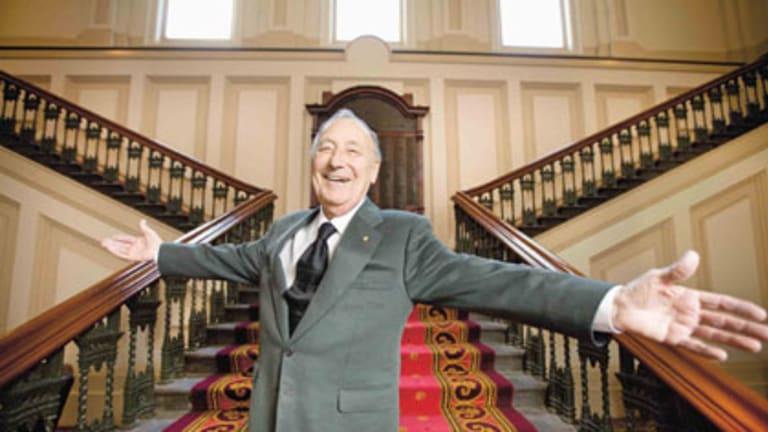 Businessman, philanthropist and poet Les Erdi.