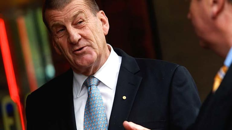 Not happy ... Jeff Kennett sent bread to the ACCC.