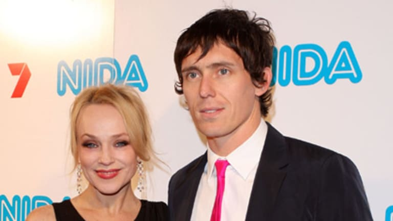 Meant to happen ... Susie Porter and husband Christopher Mordue.