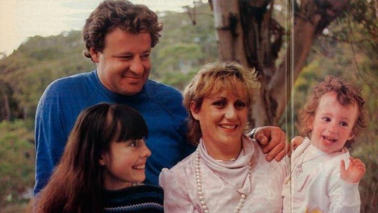 The Van Grafhorsts: John, Dana, Gloria and Eve.