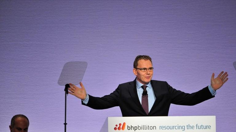 BHP Billiton boss Andrew Mackenzie.
