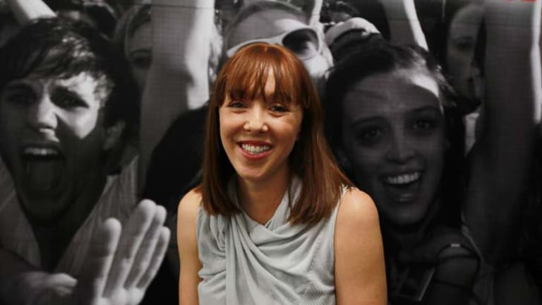 Success story … Rebekah Campbell, founder of Posse.com, at her office in Surry Hills.