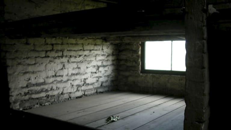 """Mark Frydenberg describes this as """"Mum's bed at Auschwitz""""."""