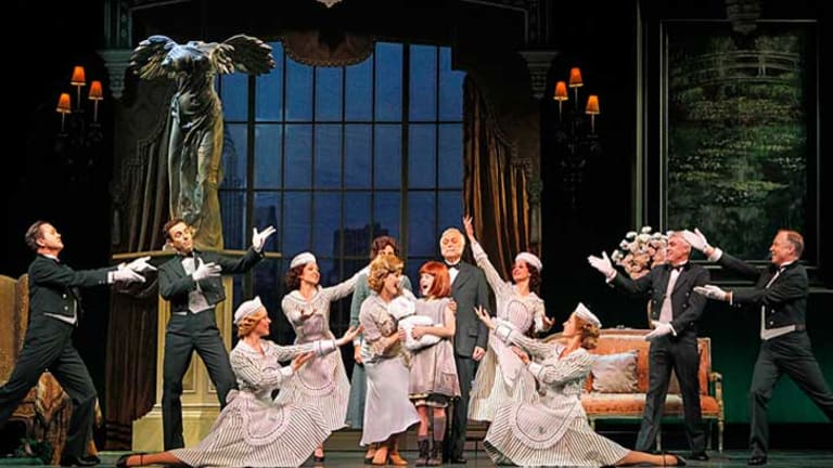 Annie The Musical opened in Perth on Tuesday and runs until September 30.