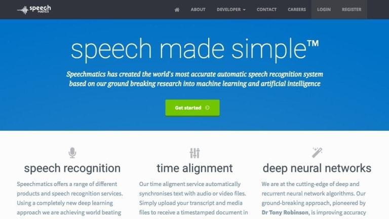 Speechmatics supports nine languages, including British, US and Australian English.