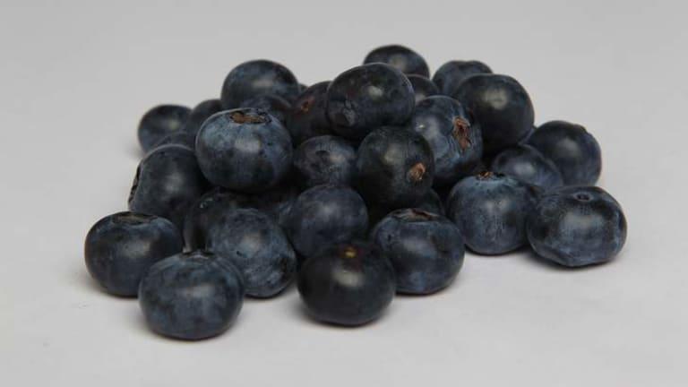 Superfood? Blueberries.
