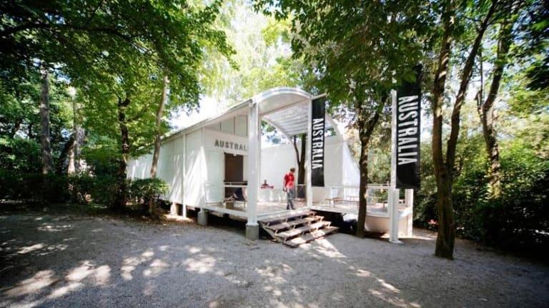The previous Australian pavilion at the Venice Biennale, designed by Philip Cox.