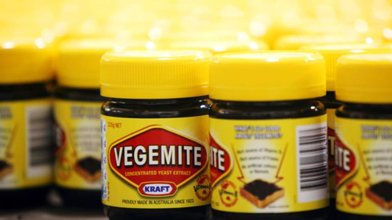 Vegemite may be an Australian symbol but its owne by a global brand.