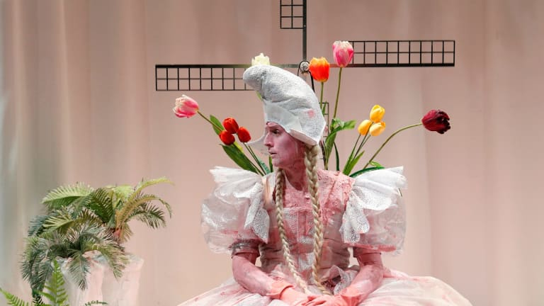 Ash Flanders as Lilith in <i>Lilith: The Jungle Girl</i>.