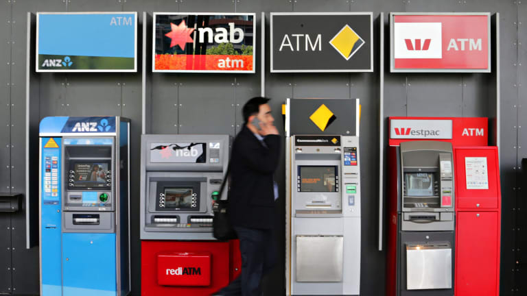 Banks were hit particularly hard in US trade and that selling carried through to the Australian financial sector on Wednesday.