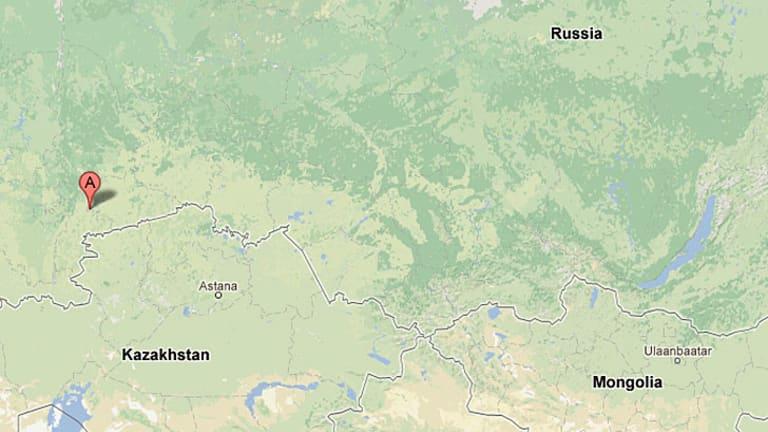 The Chelyabinsk region in the Russian Urals.