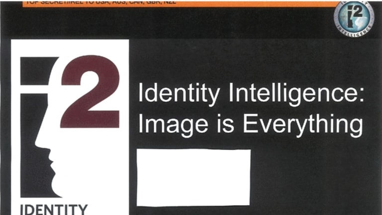 One of the NSA slides documenting the facial recognition program.