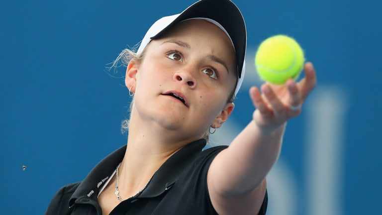 Ashleigh Barty has an acute awareness of the humble beginnings of the path to the top.