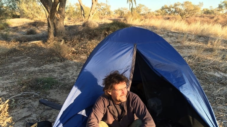 His journey took him to remote parts of Australia, to the Indian Ocean and Europe.