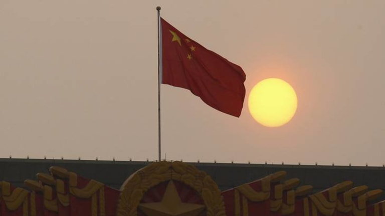 China's carbon emissions surged last year sending global output to a new record, IWR says. Source: Reuters