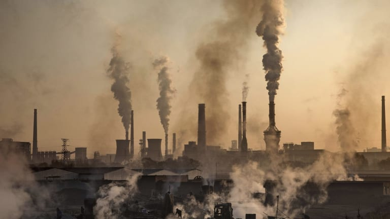 China typically orders industrial plants to cut or limit production to help clear the skies ahead of a major event such as when it hosted the G20 Summit in Hangzhou last year.