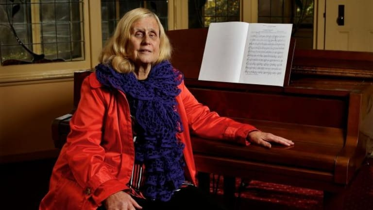 Vocal: Music teacher Karen Carey defends Dr Suzuki saying the claim of fraud is 'a disgraceful thing to say'.