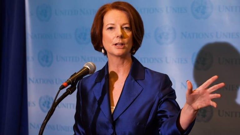 'She did nothing wrong' ... Julia Gillard's former boyfriend has come to her defence.