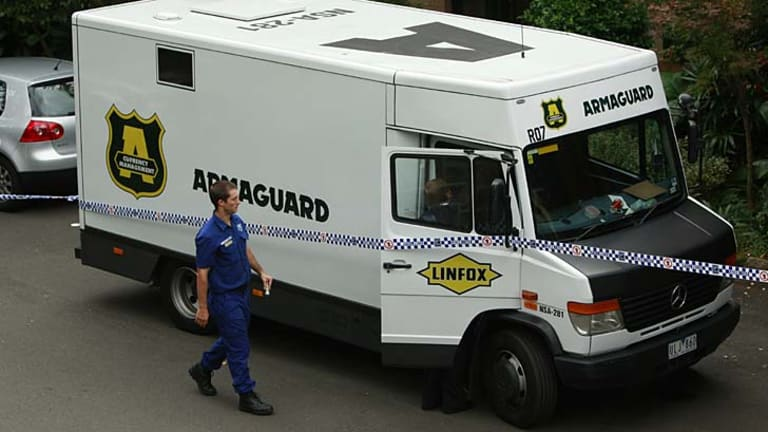 Of more than $6 million in cash stolen from armoured trucks in the past year, only $500,000 has been recovered.