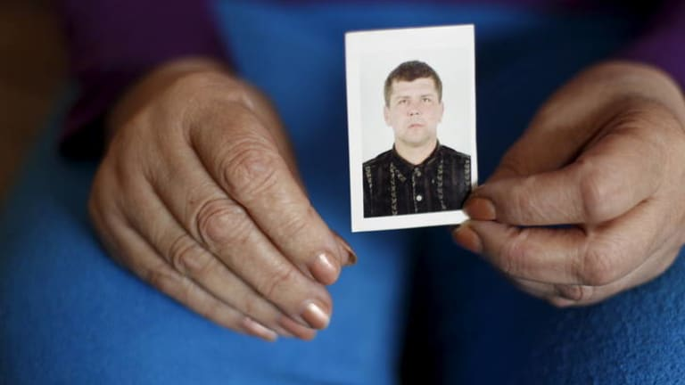 Oleksandr Frolov died just before Christmas. His tissue turned up in a security sweep in Ukraine two months later.