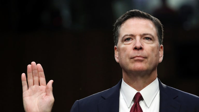 Comey testified before the Senate Intelligence Committee last week that he was certain his firing was due to the president's concerns about the Russia probe.