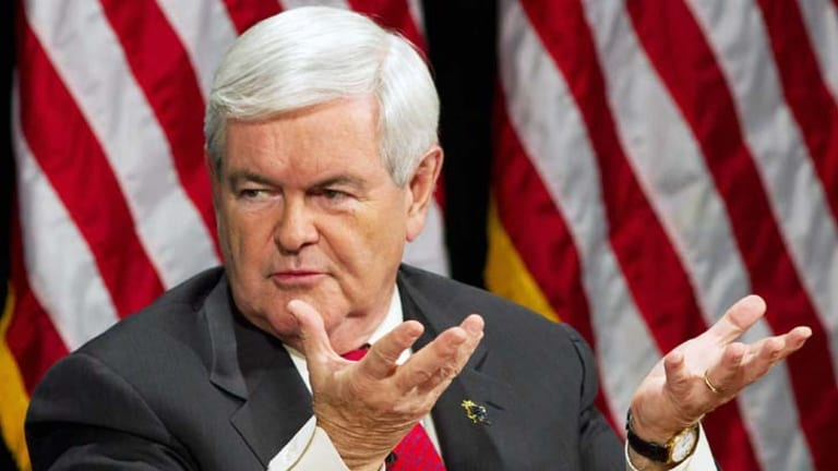 Controversial ... Newt Gingrich.