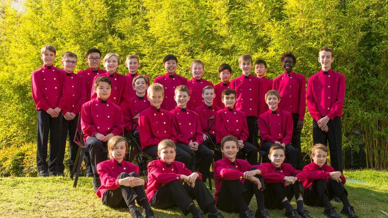 The Australian Boys Choir.