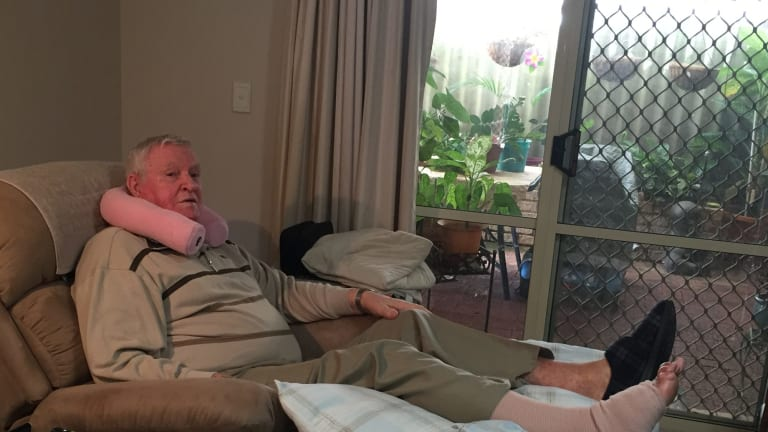 Ivan Broxton, 80, waited more than twice the advised waiting time for his foot surgery.