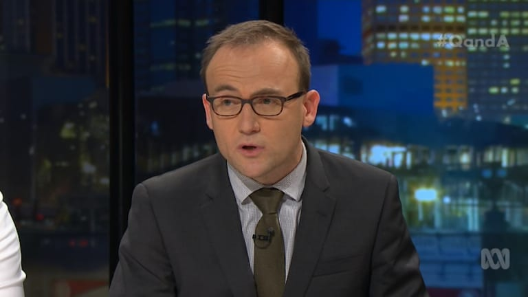 The Greens' Adam Bandt sat on the banking committee and argue the Oath is an excuse being used to avoid regulation.