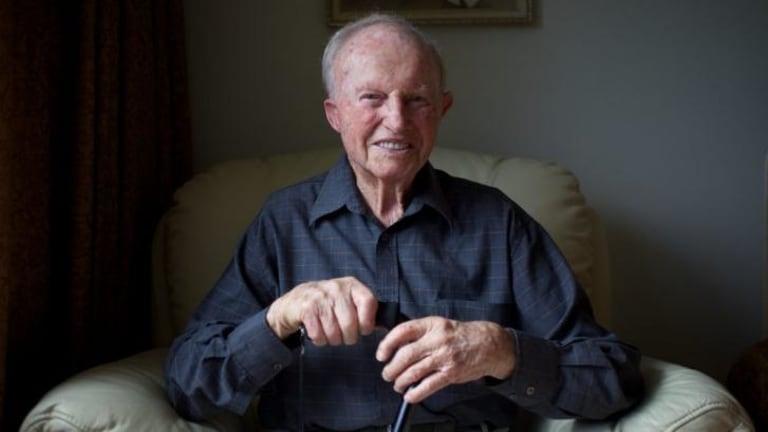 Wallabies centurion: Former Australian rugby union representative Gordon Stone will turn 100 on Sunday.