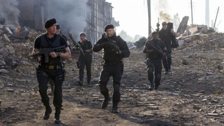 Country for old men: The plot of the Expendables 3 is as fixed as Stallone's face.
