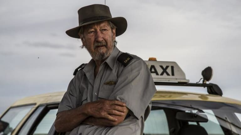 Michael Caton plays the lead role, a taxi driver,   in <i>Last Cab to Darwin.</i>