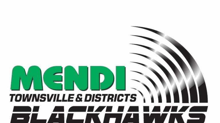 Townsvilel Blackhawks logo.