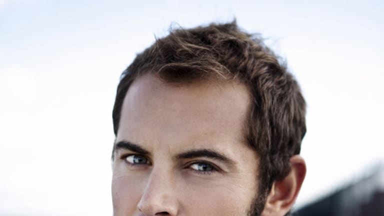 Beards are back: Actor Daniel MacPherson pulls of the rugged look with aplomb.