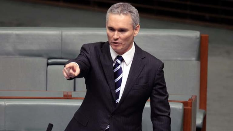"""Craig Thomson ... """"Privilege allowed him to put names to allegations."""""""