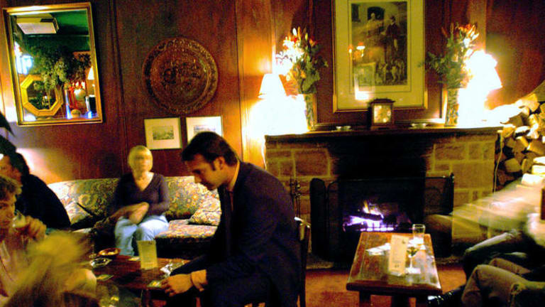 Cosy and warm ... the Lord Dudley Hotel, Woollahra.