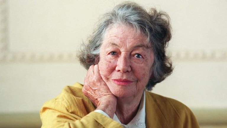 Thea Astley, winner of The Age Book of the Year award in 1996.
