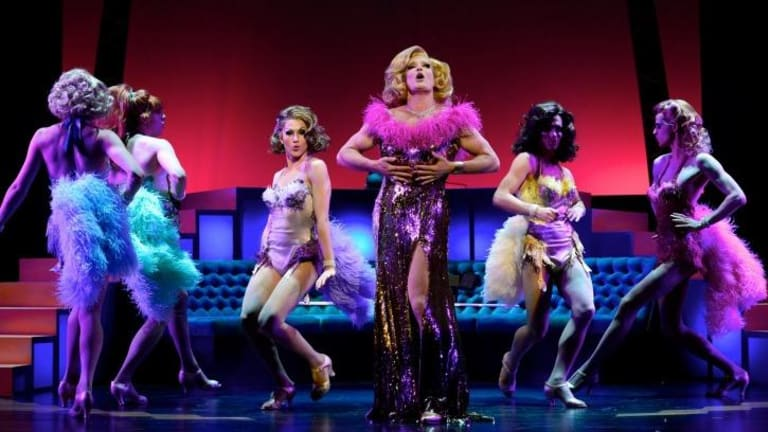 Showtime: Todd McKenney takes centre stage in <i>La Cage aux Folles</i>.