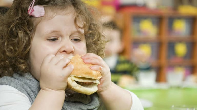 Super-size ... a report from the Cancer Council NSW found 90 per cent of children's meals exceeded recommended limits of salt and sugar.