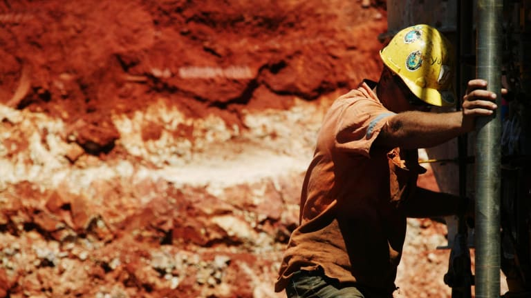 With the end of the mining boom, workers have been forced to shifting from higher paid mining or construction jobs to lower paid ones.