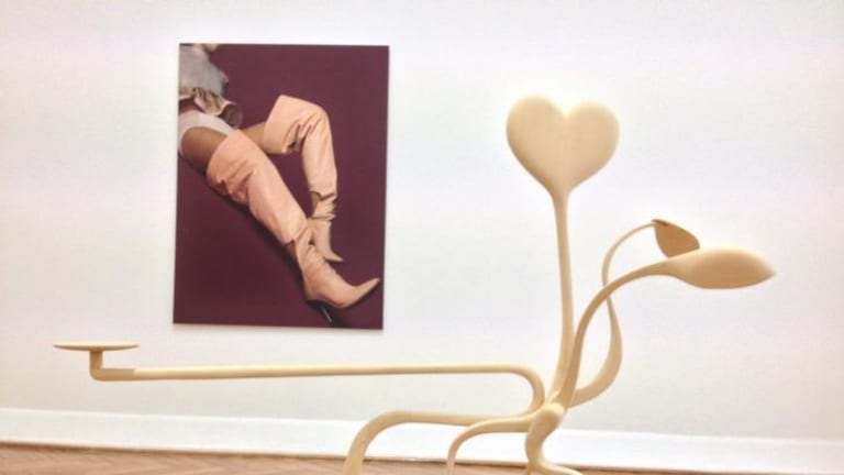 Sinewy limbs: Claire Lambe's sculpture.