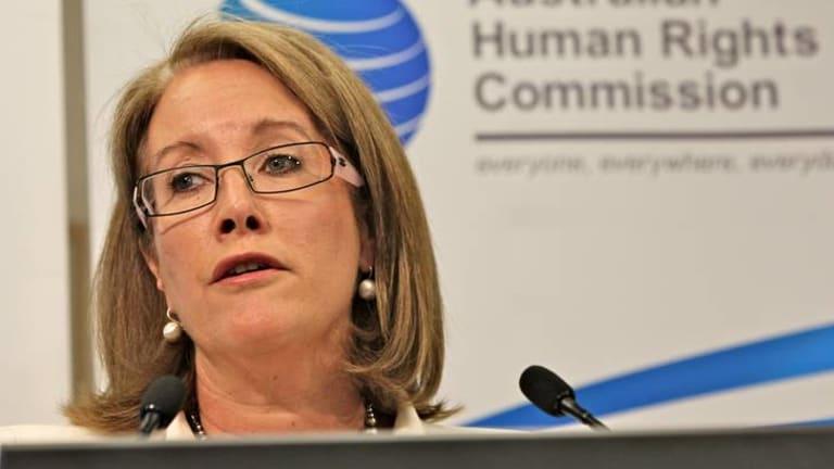 Sex Discrimination Commissioner Elizabeth Broderick.