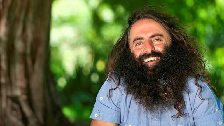 Wary Viewers Now Dig The Unconventional Hairy Faced Gardener