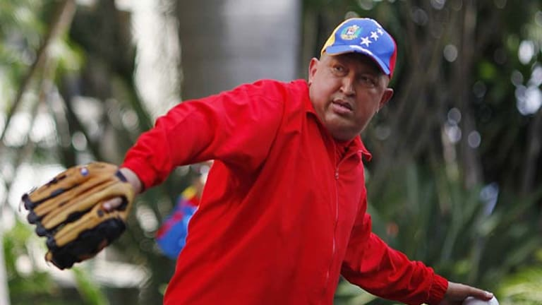 Venezuela's Hugo Chavez has scoffed at reports of his declining health.